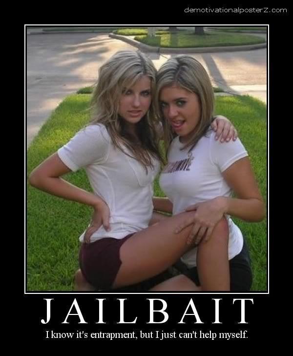 jailbait demotivator poster