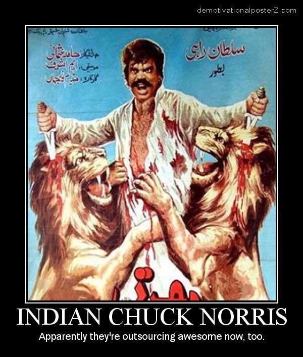 INDIAN CHUCK NORRIS