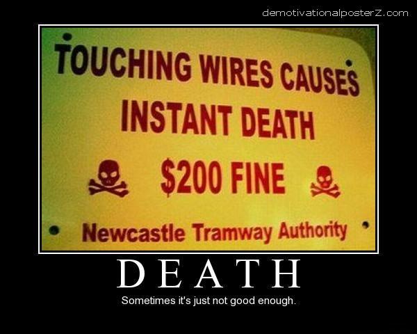 death + 200 dollar fine