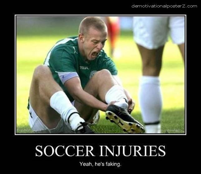bad soccer injury