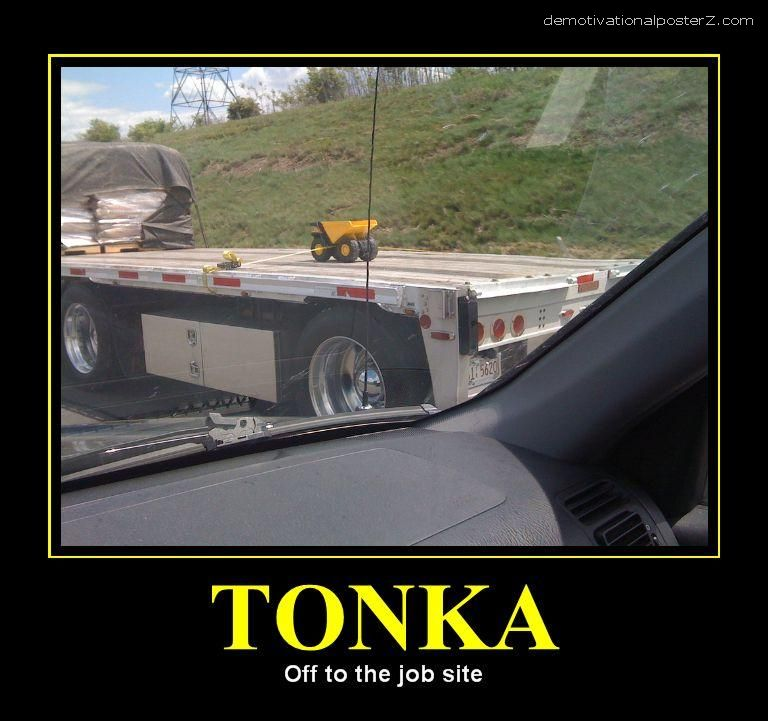 TONKA - OFF TO THE JOB SITE