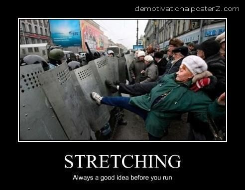 protest stretching