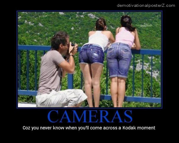 kodak moment motivational poster