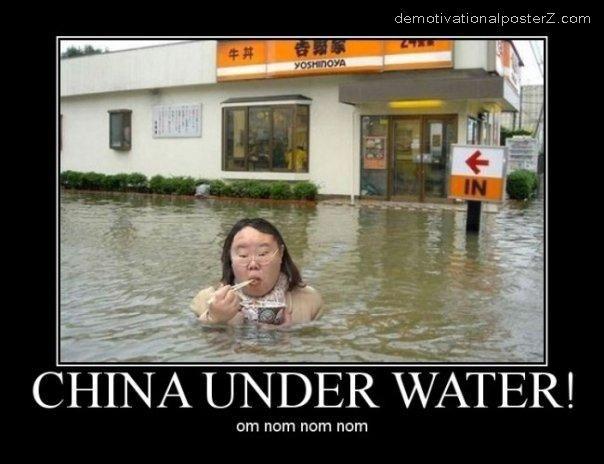 CHINA UNDER WATER om nom nom