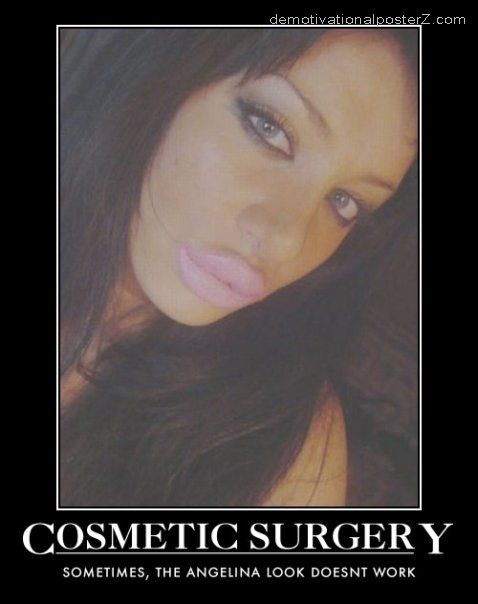 cosmetic surgery fail lips