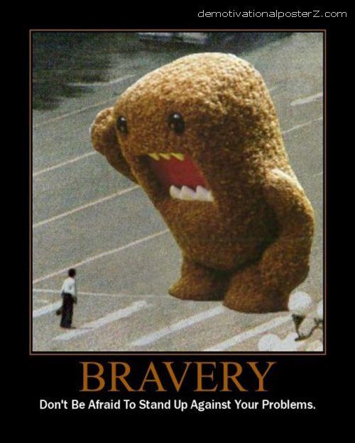 bravery funny