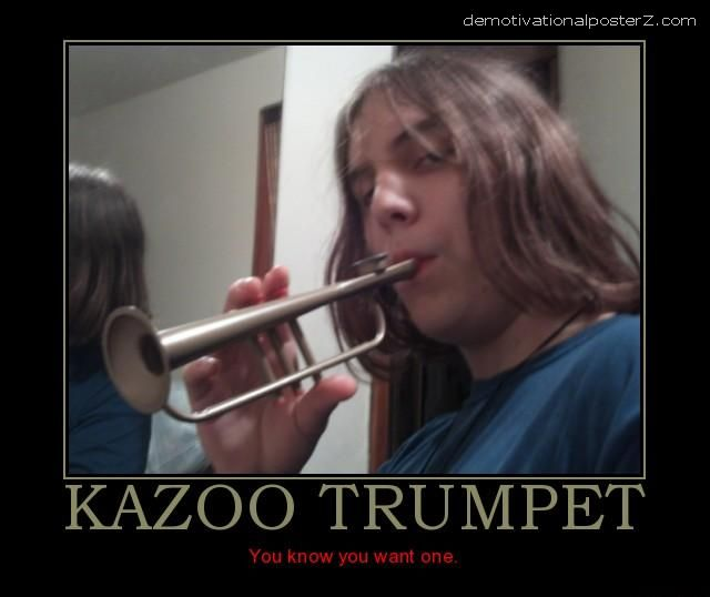 KAZOO TRUMPET