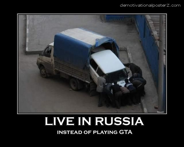 LIVE IN RUSSIA INSTEAD OF PLAYING GTA