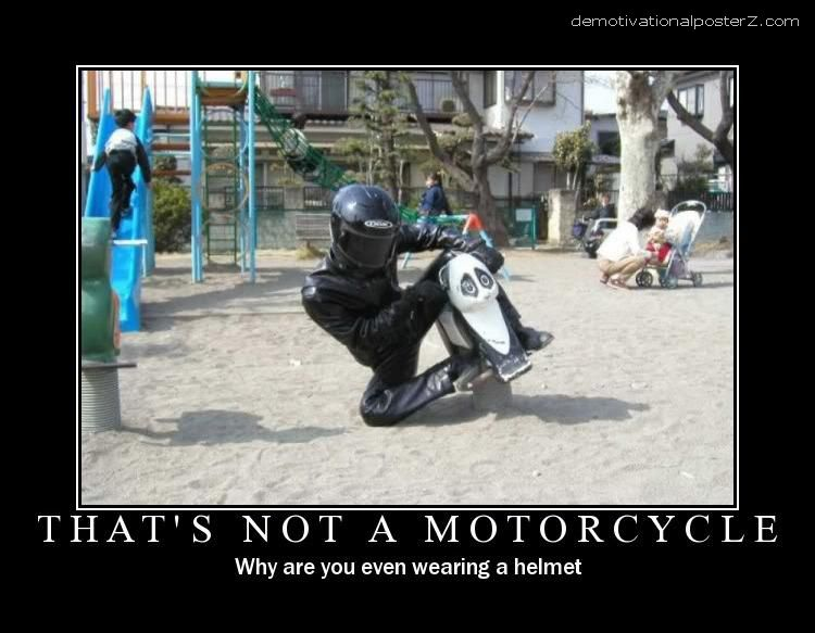 that's not a motorcycle