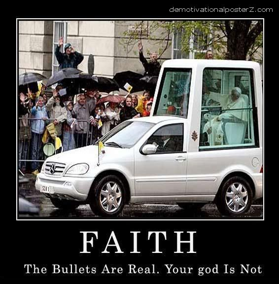 popemobile motivational poster