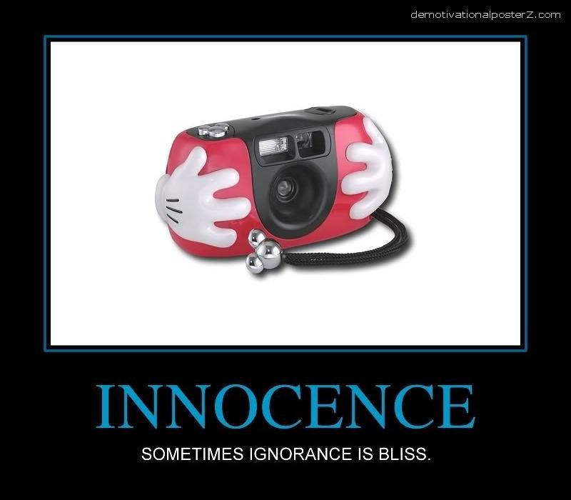 innocence motivational poster