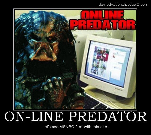 online predator funny