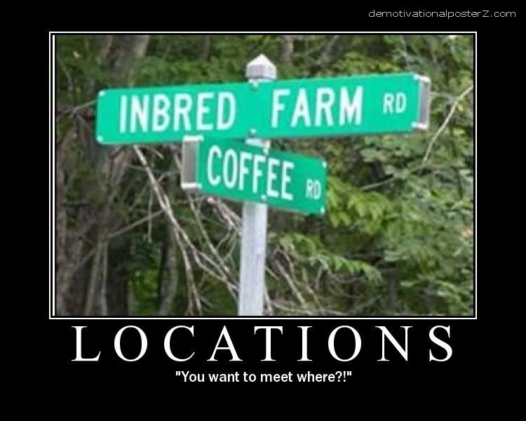 locations inbred farm motivational poster