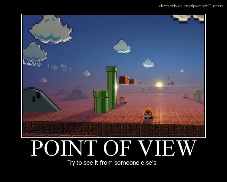 point of view mario motivational