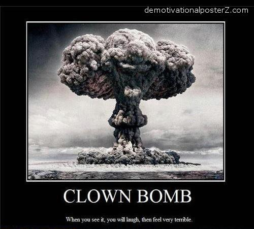 clown bomb picture atomic