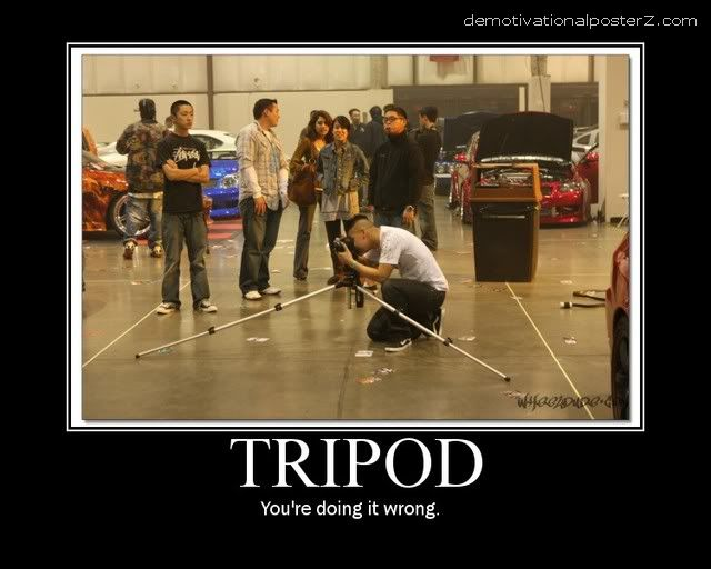 tripod doing it wrong demotivator