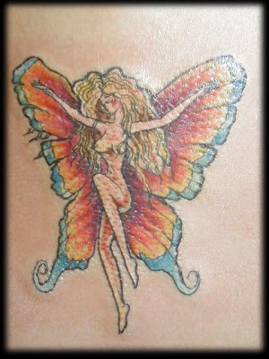 Tatto  on Images Of Tattoo Designs Butterfly Tattoos Angel Black And Gray