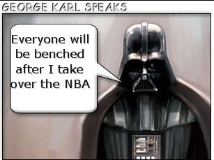 LAUGH OUT LOUD, GEORGE KARL!