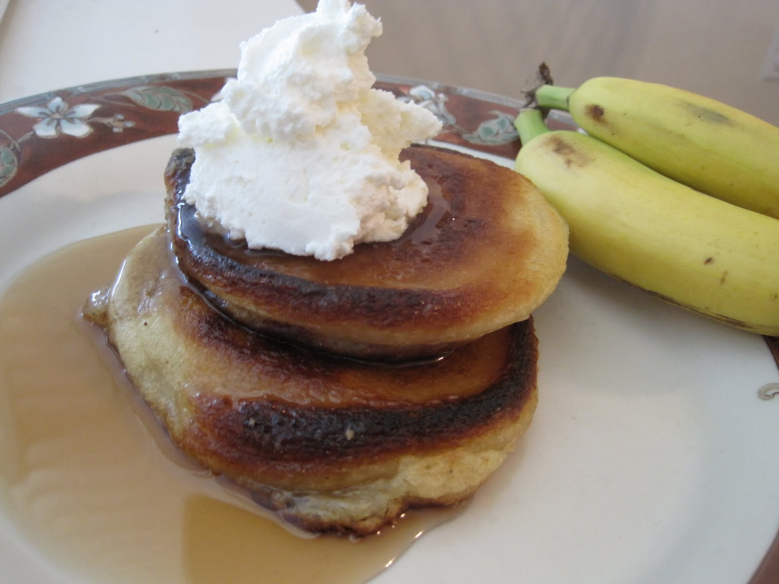 Be Delicious: Baby Banana Buttermilk Pancakes