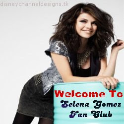 Selena Gomez  on Disney Channel Designs  Selena Gomez Fan Club 8 Logo