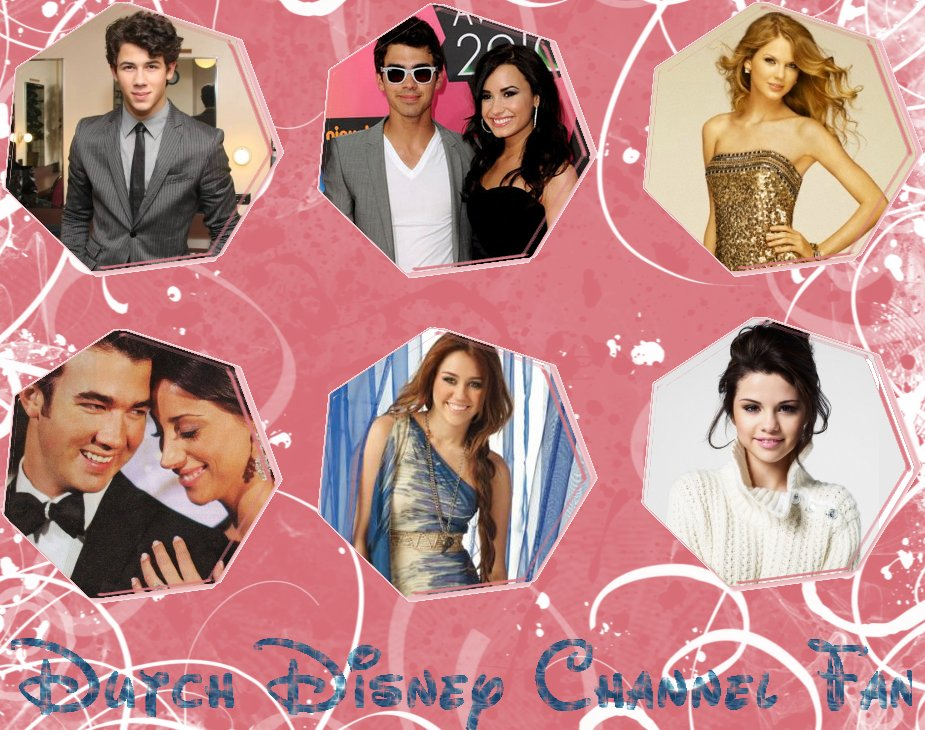 selena gomez and demi lovato and miley cyrus and jonas brothers. Labels: Demi Lovato, headers,