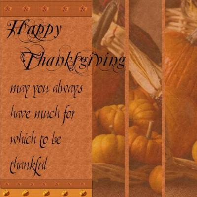 happy thanksgiving to you to