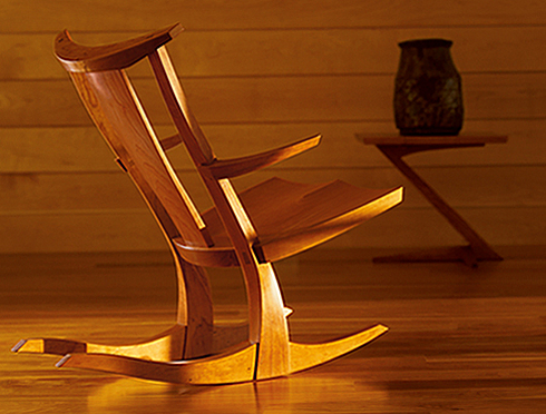 edo rocking chair thomas moser solid wood furniture