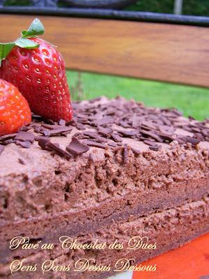 Gateau au chocolat des ducs marmiton