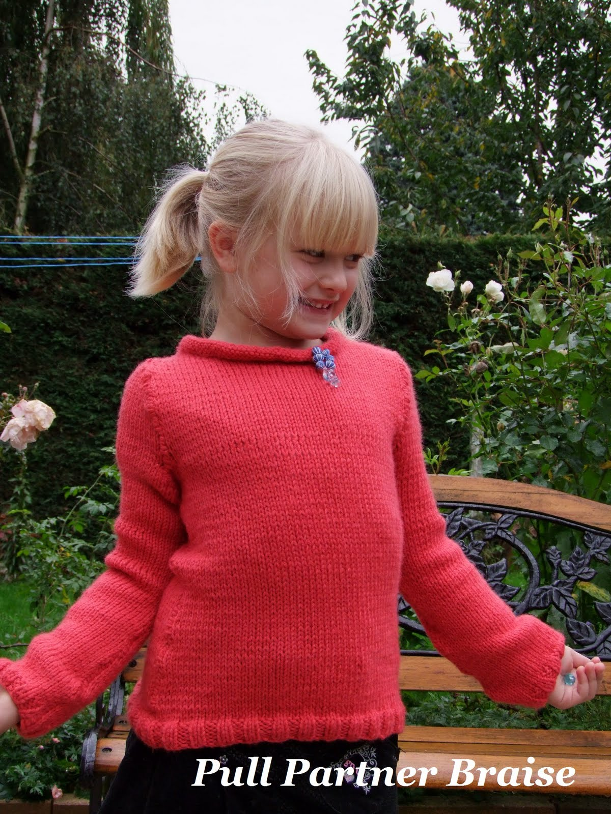 tricot pull fille 8 ans