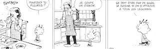 dessin-bd-calvin-dans-cuisine-avec-sa-maman-qui-epeluche-un-oignon