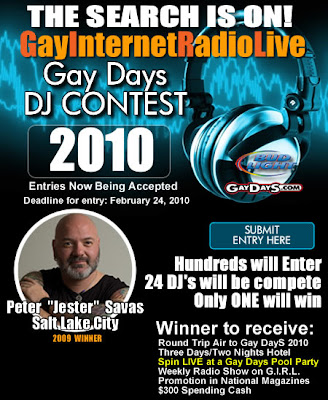 Gay Internet Radio Live (G.I.R.L) will be accepting entries through 24 ...