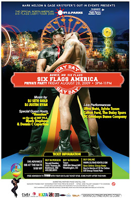 DC Cowboys perform at Six Flag America's Gay Day on Friday 8/28