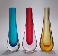 Teardrop vases pat. 9571