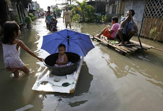 Cambodia picture Flood water