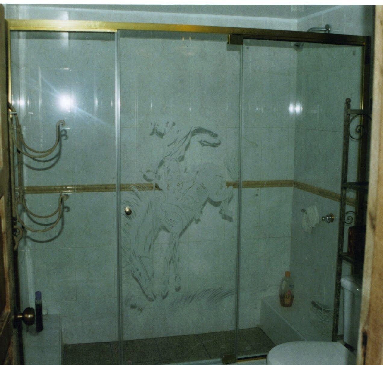 Cortinas de ba o en cristal - Persianas para banos ...