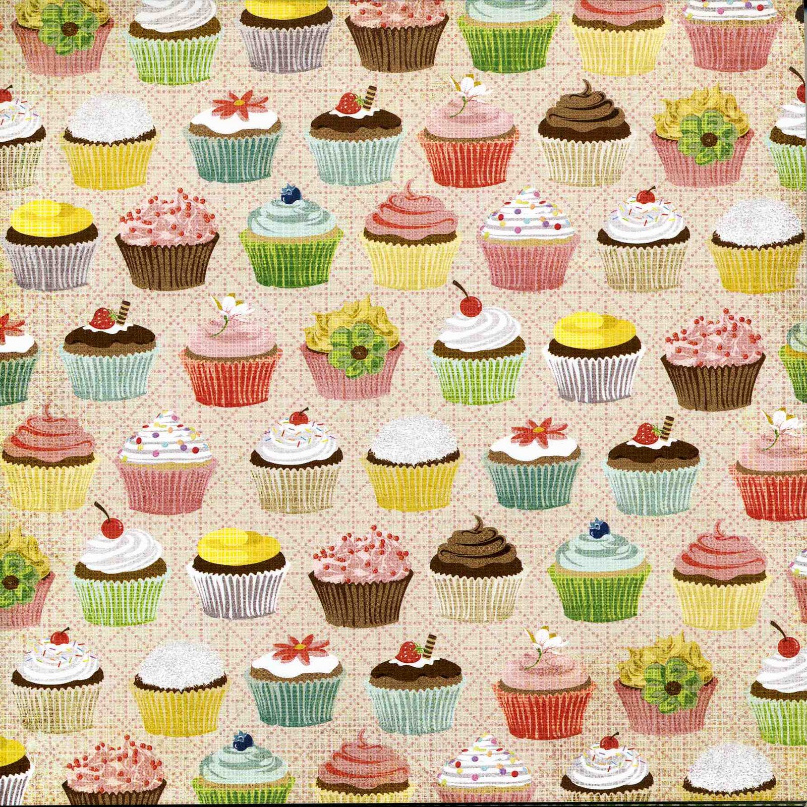 vintage cupcake wallpaper - photo #12