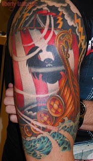 Viking Ship Tattoo Designs : Celtic Tribal Tatas Well Designs And Their Significance