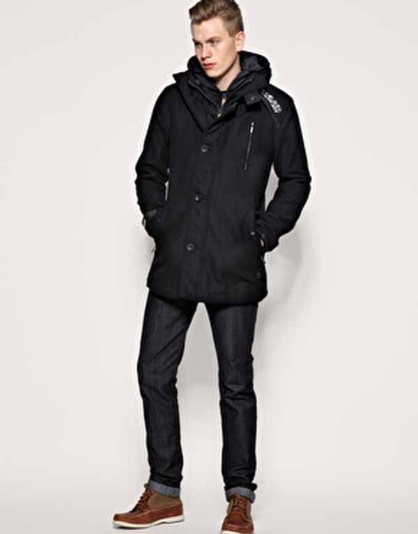 London Fog Boys Hooded Ripstop Bubble Jacket