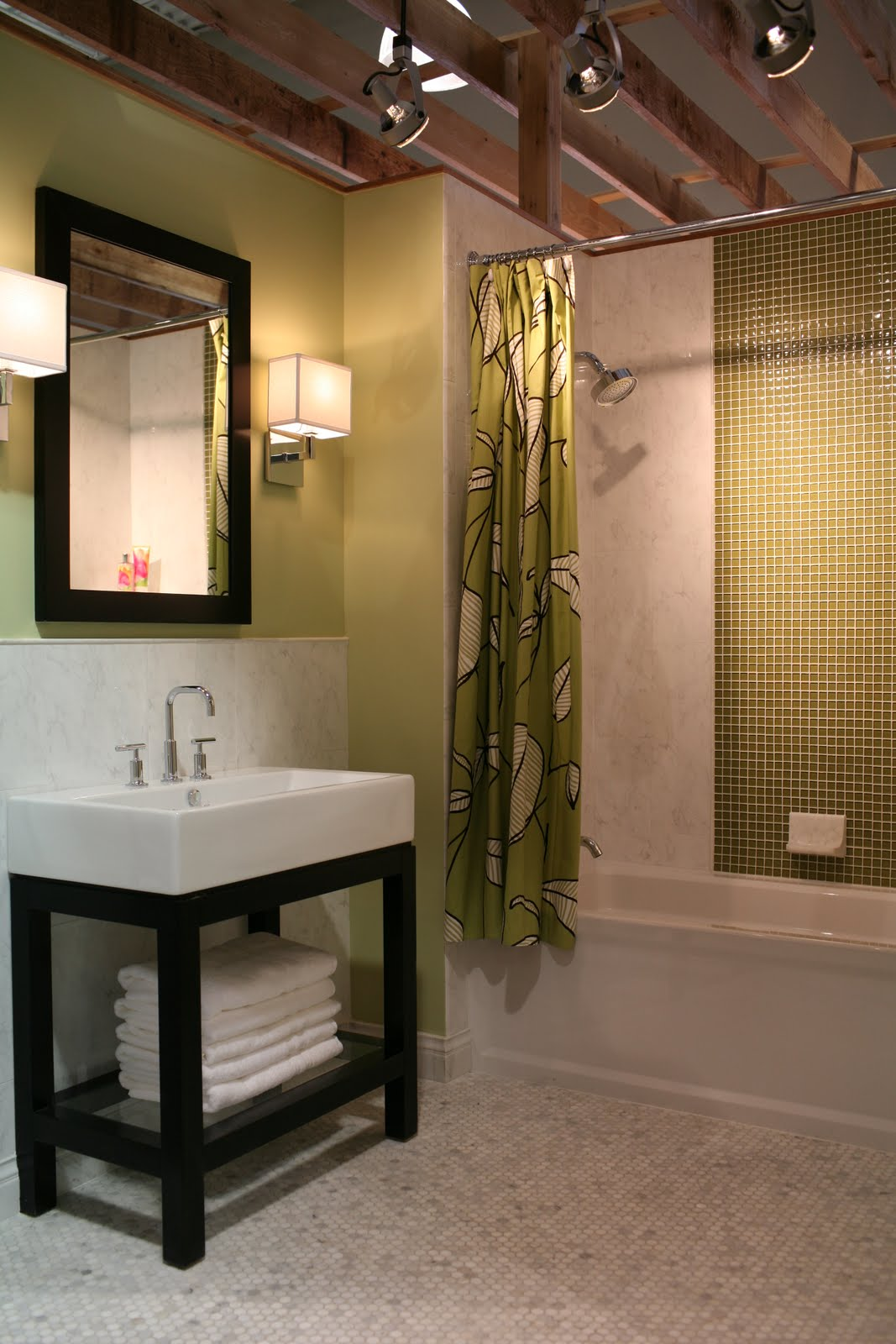 Shower Curtains | The Tile Shop: Design by Kirsty