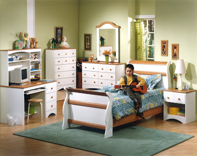 Interior and furniture children's room