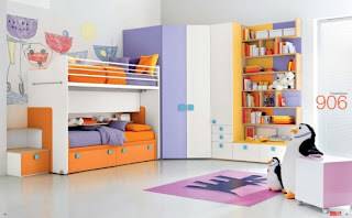 Interior room to take advantage of a corner wall cupboard clothing