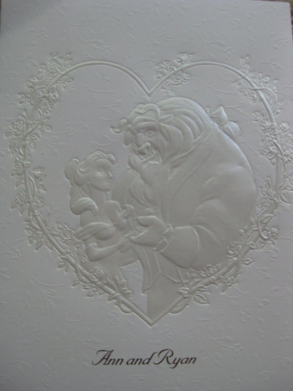 Beauty And The Beast Wedding Invitations is amazing invitation design