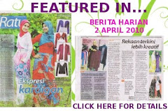 BeautifulSofea.com in Berita Harian 2 April