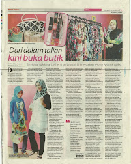 BeautifulSofea.com In Berita Harian 18 June