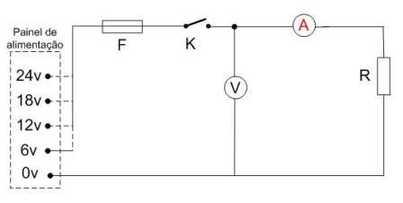 Alimentação de um circuito com vários niveis de tensão