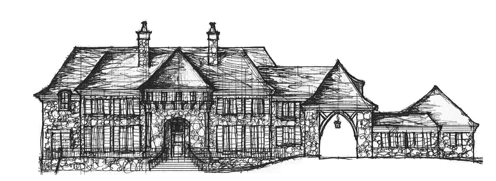 Displaying 16> Images For - Log Cabin Drawing...