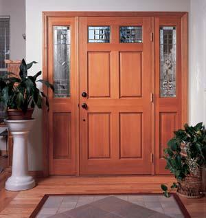 Puertas de madera portones puertas de madera for Portones de entrada principal
