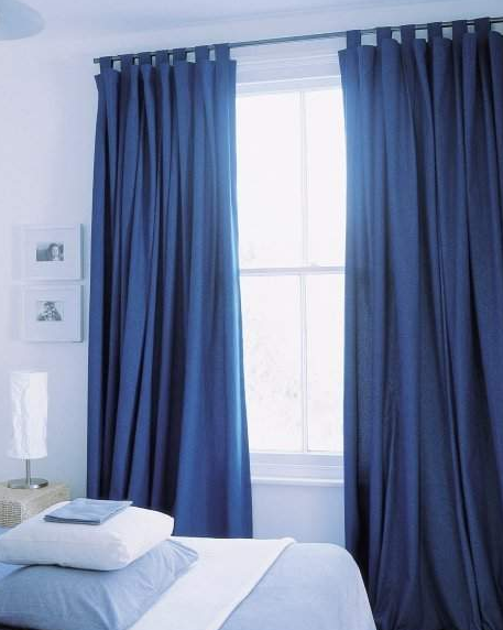 Cortinas y persianas for Modelos de cortinas de tela