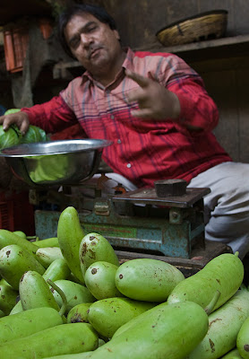 Vegetable vendor, Jamnagar
