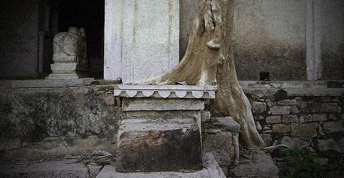Inside the Taragarh fort